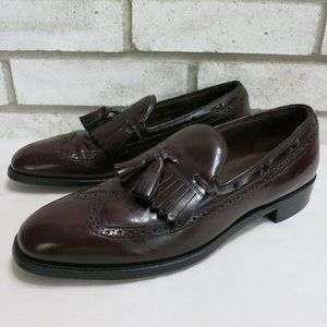Bostonian Tassel Kiltie Dress Loafers Shoes 10.5